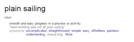 PlainSailingDefinition