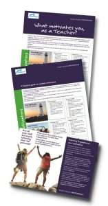 Picture of Plain Sailing leaflets for teachers