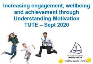 Increasing, engagement, wellbeing and achievement through understanding motivation - cover